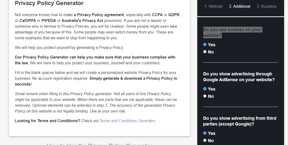 free-privacy-policy-for-website